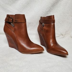Seychelles whiskey leather bootie